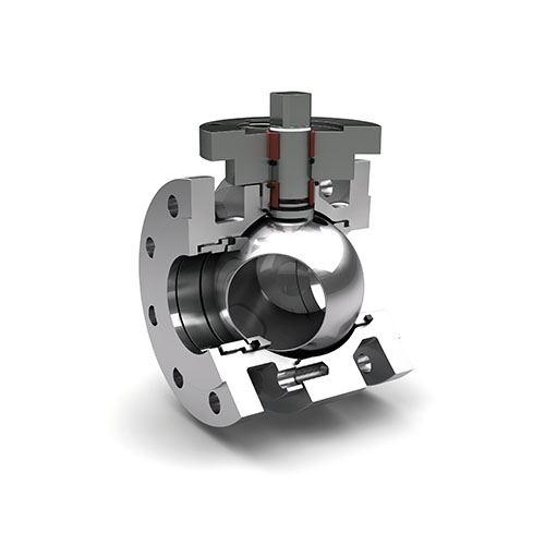 Metal ball valves
