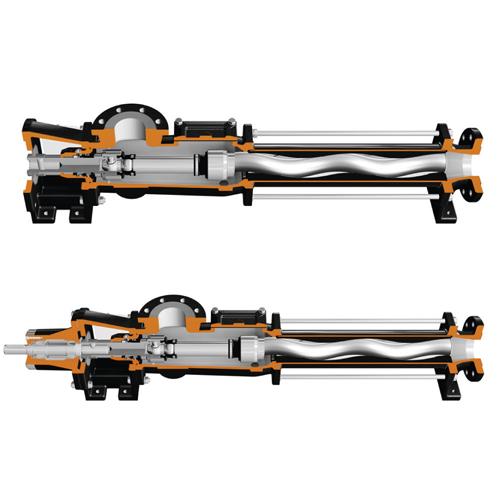 Standard cavity pumps