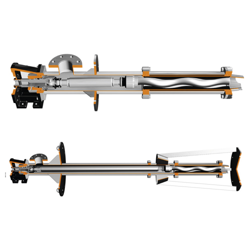 Submersible cavity pumps