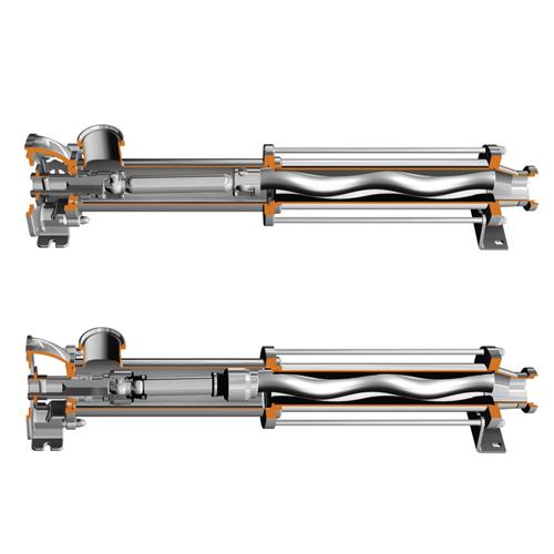 Hygienic cavity pumps
